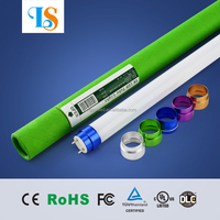 free shipping cool white t8 led tube 18w 20w ac85-365v 115lm/w integrated led driver compatible with magnetic ballast