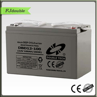 Top and efficiency storage battery 12V 100AH VRLA battery AGM UPS battery