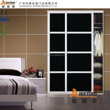 new morden living room wooden cheap fitting sliding door wardrobe