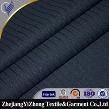 top quality TR wool fabric for man's stripe suit fabric