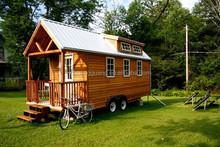 New Modern Mobile house/ Eco-Wood container/ Trailer/Caravan