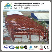 prefabricated low cost steel structure for warehouse