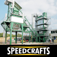 Portable Asphalt batching plant for Used in Road and Building Constructions