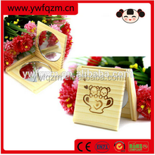 New Design Wooden Professional Compact Mirror