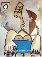 De la mano- pintado de pablo picasso pinturas reproducción de arte