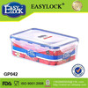 China factory wholesale plastic fruit containers,airtight, lock lid