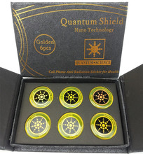 Quantum Anti radiation energy shield,6pcs per box ,OEM