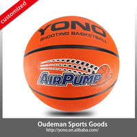 2015 High quality size 7 rubber ball basketball