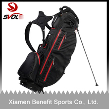 New design water proof golf bag with stand