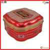 colorful food packing metal small octagonal cookie tin can