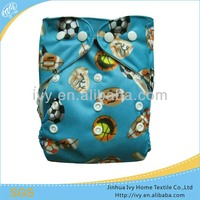 Animal Printed Fabric Cloth Diaper China Prodcuts PUL Print