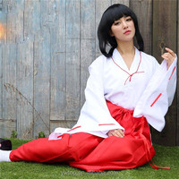 Sex Witch Cosplay Japanese Kimono Robe Culottes Everyday Stage Performance Clothes
