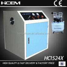 1.1KW super silent dental oilless air compressor with silent box