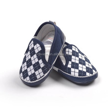 2015 New design canvas baby shoes , baby moccasins