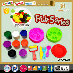Hot item toys for kids children fruit plasticine clay toy
