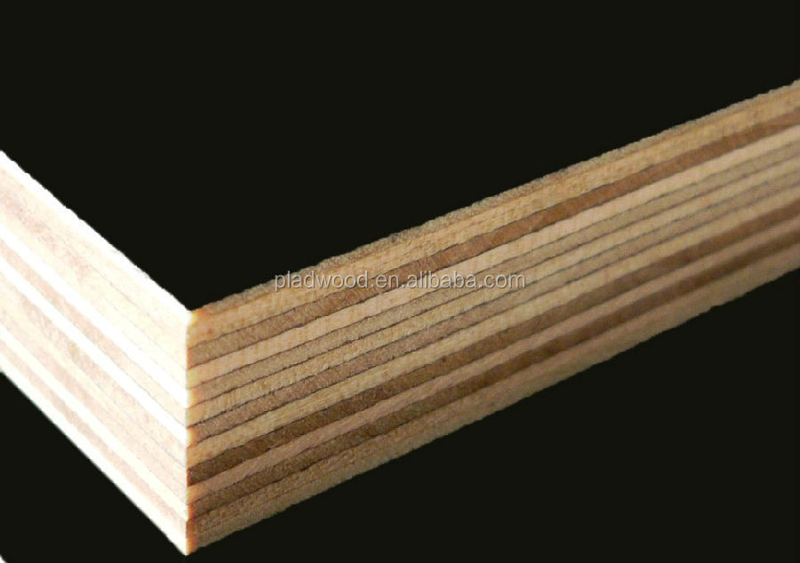 Construction wood panel plywood paneling for walls