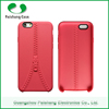 Mobile phone case manufacturer TPU zipper design 8 colors anti-throw back cover for Apple iPhone 6