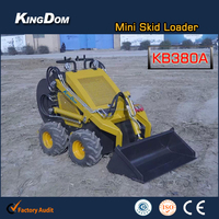 China compact mini skid loader for sale with CE EPA ISO, like Bobcat Dingo Boxer Hysoon Mattson