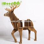 Iwood 9 mm MDF madeira veados forma de café
