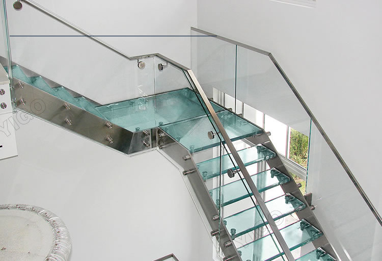 Prefab Stair Stringer/economical And Practica Staircase