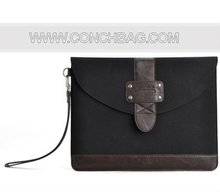 for ipad 3 case, Envelop genuine leather universal sleeve bag for new ipad