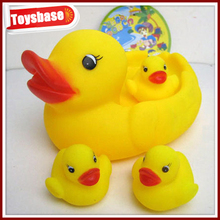 Promotional rubber duck with logo