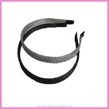 Fabric covered 1CM plastic headband