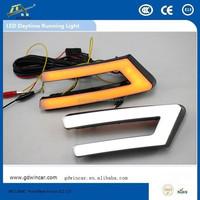 Waterproof daylight running lights for Fordd focuss Headlight Type and 12V Voltage Daytime Running Light
