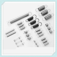 tension spring for bathroom accessory with zinc plating
