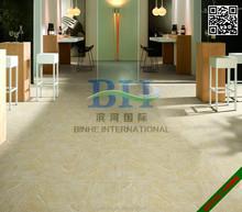 Good price Inkjet glazed ceramic tiles 24ix24in beige villa rustic porcelain tiles factory in Linyi Shandong