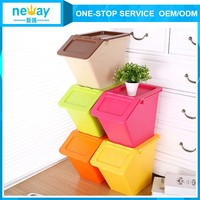 New Design Logistic Storage Plastic Storage Boxes For Clothes Toys And Fruits