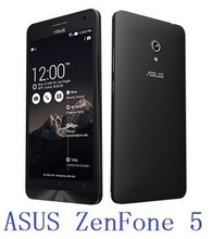 Original ASUS zenfone 5 phone 1GB RAM 8GB ROM Intel Atom Z2560 1.6G dual core cpu 8.0M+2.0M dual cameras dual sim card
