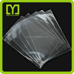 Yiwu customized clear durable bopp bag plastic