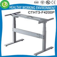 Electric Lift Sit or Standing Desk frame mobile computer desk for school desks