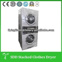 SWD commercial double stack washer and dryer