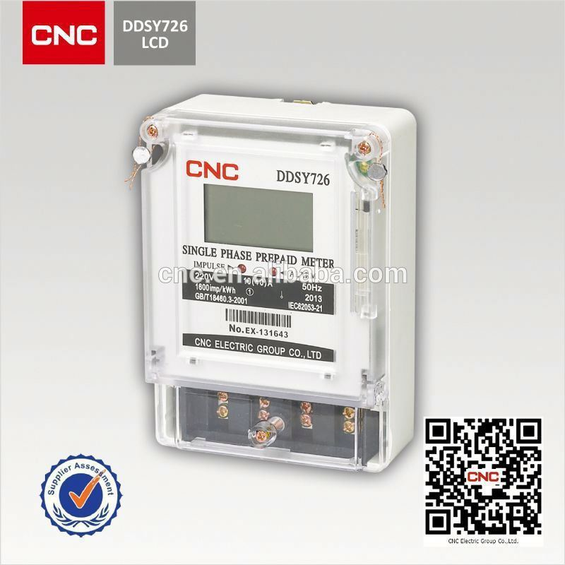 Three Phase Electricity Meter : Ddsy three phase prepaid electric meter buy