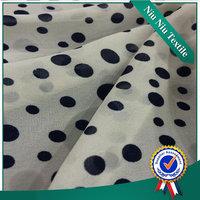 wholesale fabric china Fancy Woven digital printing on felt fabric