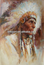 indian oil paintings Impressionist people oil painting