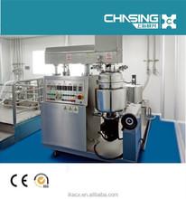button control 3000L cream vacuum emulsifying machine