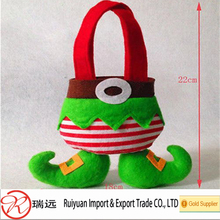 Alibaba supplier Special Design Christmas Stocking Gift Packet Elf Candy Bags