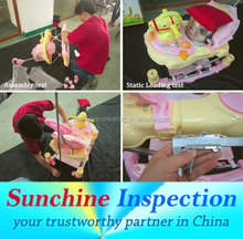 inspection service product check/handicraft/table decoration/outdoor furniture quality check