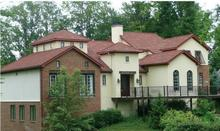 Waterproof and heat resistence spanish clay roof tile fiberglass roof tile