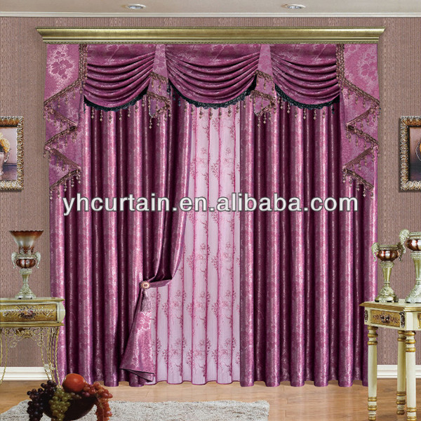 Blackout Curtains For Living Room Hotel European Simple: Hotel Blackout Curtain European Style Window Curtains