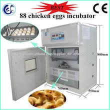 ce automático digitalincubadora codornices máquina de eclosión de los huevos