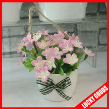 wholesale mini pot flower as promotion valentine's day gift