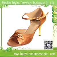 High quality exported ladies ballroom nude color dance shoes latin shoes for dancing women