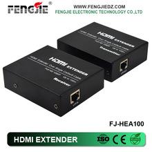 100M High quality hdmi extender over CAT 5 e / 6