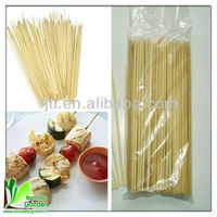 bamboo sticks food round