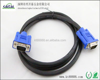 length of the custom HDB15 male to HDB 15 male VGA cable