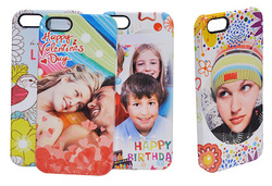 OEM blank 3D Sublimation PolyArc Mobile phone cases Cover for Iphone 5 5S